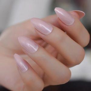 BNIB pale pink press on nails